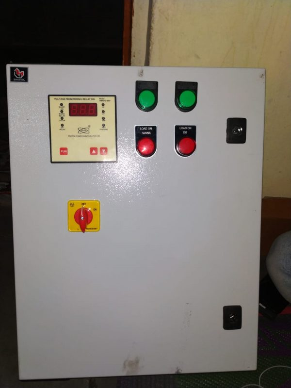 65 Amp Dg Set Pannel