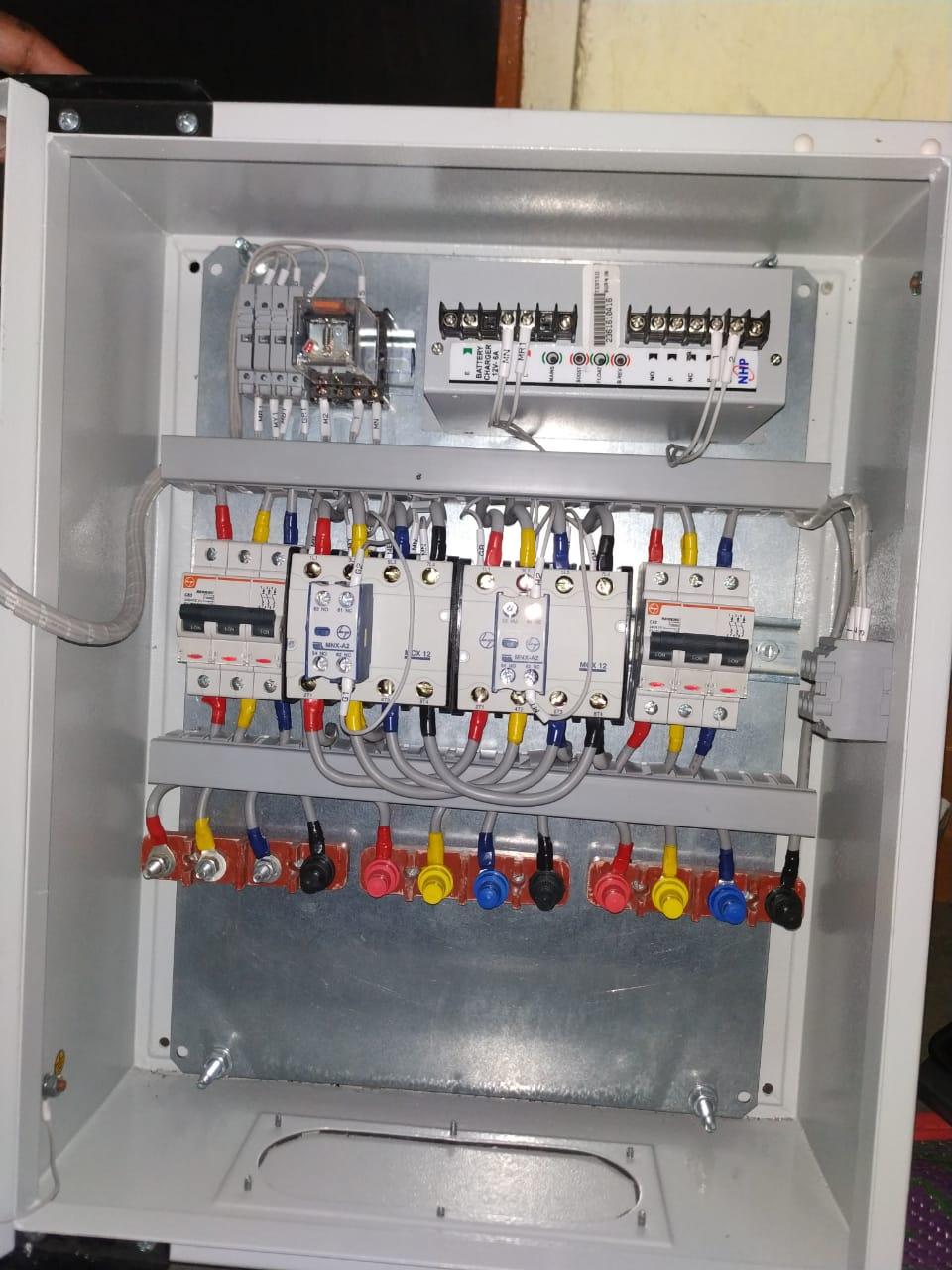 DG Set Autochangover Panel